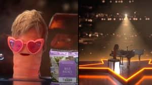 Aldi Trolls John Lewis In Hilarious Advert With 'Veg Dwight' Starring As Elton John