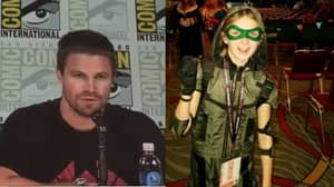 'Arrow' Star Stephen Amell Melts Hearts When A Girl Battling Cancer Makes A Request