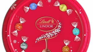 Lindt Has Released A Huge Sharing Tin Of Chocolate Truffles