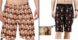 You Can Buy Shorts With Your Face All Over Them For Your Boyfriend