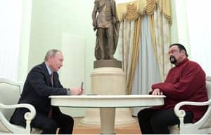 Steven Seagal Granted Russian Citizenship By Vladimir Putin