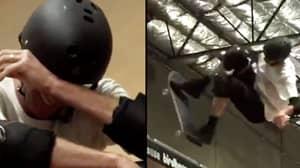 Tony Hawk Breaks Down In Tears After Landing His Last Ever Ollie 540