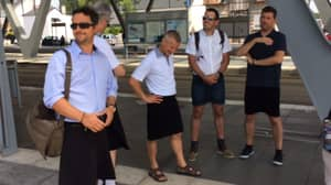 French Bus Drivers Wear Skirts During Heatwave To Get Around 'Shorts Ban'