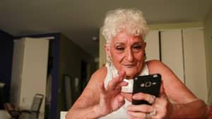 Grandma, 83, Loves Using Tinder To Find Younger Men