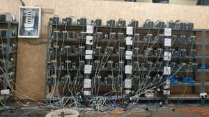 Huge Illegal Bitcoin Mine Discovered At Suspected Cannabis Farm