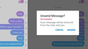 Facebook Is Testing A New Feature Where Messages Can Be Unsent