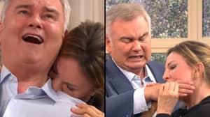 Eamonn Holmes Gets A Little Too Into 'Bite Massage' On 'This Morning'