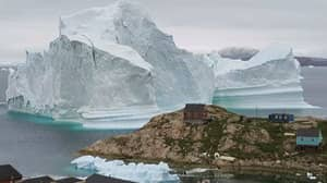 Giant Iceberg Looms Over Greenland And Could Cause Tsunami