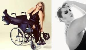 Meet The Woman Attempting To Be The UK's First Plus-Size Disabled Model