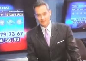 Banterless Weatherman Sucks Us Into The Void With Miserable Joke About Sex With A Dog