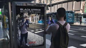 Ad Appears Saying Black Mirror Season 6 Is 'Live Now, Everywhere'