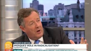 Piers Morgan Goes Head-To-Head With Another Imam In 'Good Morning Britain' Grilling