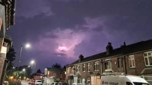 Bizarre 'Silent Lightning' Strikes In Britain With 'Weirdest Storm Ever'