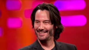 Keanu Reeves Is Unrecognisable As He Takes A Break From Stunt Training