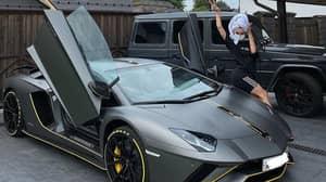 Influencer Has Lamborghini Taken Away Following 199 Unpaid Traffic Fines