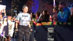 Runner Left Paralysed After Sexual Assault Completes Marathon On Crutches