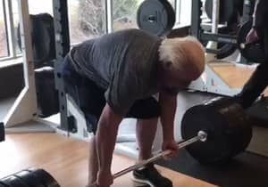Ric Flair Shares Video Of Himself Dead-Lifting 400lbs