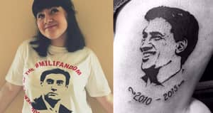 An Interview With The Girl Who Got A Big Tattoo Of Ed Miliband's Face On Her Leg