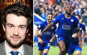 Jack Whitehall Reacts Hilariously To Leicester City Premier League Win