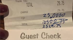 Customer Leaves Huge Tip For Bar Staff Out Of Work Due To Coronavirus