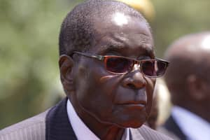 Robert Mugabe Unveils Statue Of Himself And It Looks Like A Simpsons Character