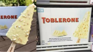 You Can Now Get White Chocolate Toblerone Ice Creams