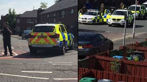 Army Deployed To Street In South Manchester After Evacuation
