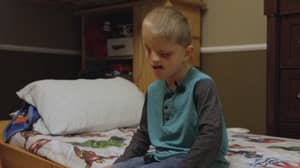 Six-Year-Old Boy One Of 60 In The World To Be Born With No Eyes