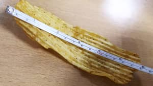 Man Finds What Is Believed To Be Britain's Biggest Crisp