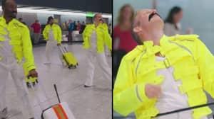 Heathrow Staff Pay Tribute To Freddie Mercury On His 72nd Birthday