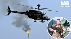 Iraq War Veteran Describes His Fear Of Death When Helicopter Missile Warning Sounded