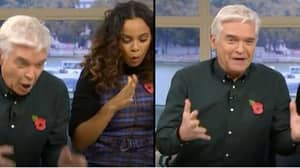 Phillip Schofield Suffers Awkward Blunder With 'Great, Big, Buzzing Dildo' On This Morning