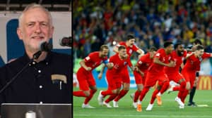 Jeremy Corbyn Wants A UK Bank Holiday If England Win World Cup