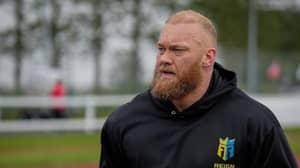 Hafþór Björnsson Shows Off 50kg Body Transformation As He Prepares For Next Fight