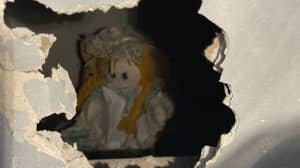 Homeowner Discovers Creepy Doll And Chilling Note Behind Wall In New Home