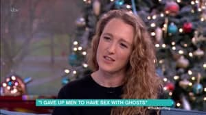 Woman Tells Phil And Holly She's Given Up Men To Have Sex With Ghosts