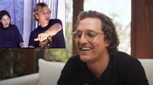 Matthew McConaughey Reacts To Dazed And Confused Audition Tape