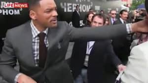 Will Smith Once Slapped A 'Reporter' Who Tried To Kiss Him