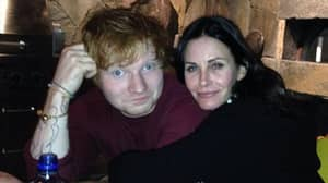 Courteney Cox Recreates Friends Dance Routine With Ed Sheeran After Reunion