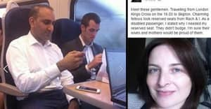 Disabled Woman Shames Train Passengers Who Refused To Give Up The Seat She Reserved