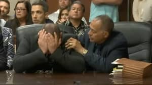 Moment Innocent Man Jailed For 18 Years Given Not Guilty Verdict