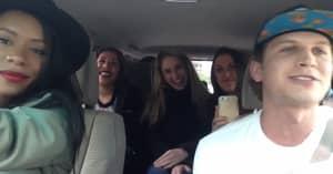 Uber Driver Pulls Off A Sick Rap For His Passengers