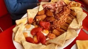 This Cafe Is Offering A Mammoth Breakfast Challenge For Just £15