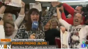 TV Presenter Covering Lottery Results Finds Out Live On Air She's Won Prize