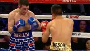 American Boxer Wearing 'America 1st' Shorts Gets Knocked Out By Mexican