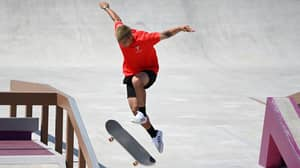 Skateboarder Suffers Painful Olympic Injury That Guys Can Relate To