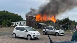 Massive Fire Breaks Out At Scottish Zoo For Second Time In A Year