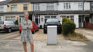 Woman 'In Tears' After Virgin Media Installs Massive New Junction Box Across Her Drive