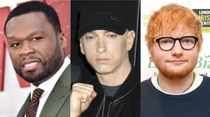 50 Cent Announces Collab With Eminem And Ed Sheeran