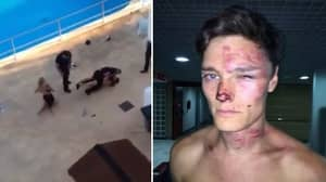 Shocking Footage Shows British Couple 'Beaten Senseless' By Magaluf Bouncers
